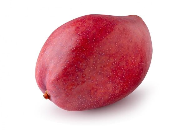 Frutta del mango isolata su una priorità bassa bianca