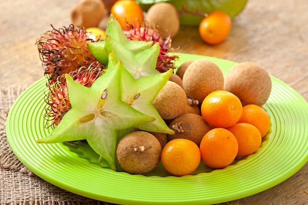 Frutta tropicale in thailandia