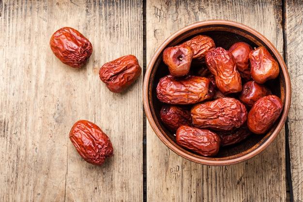 Frutta unabi secca o giuggiola