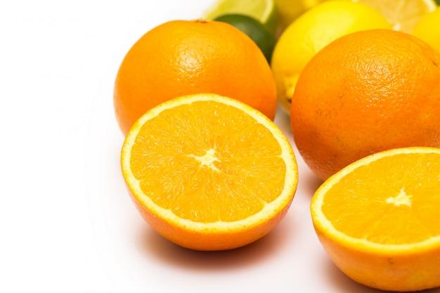 Frutti all'arancia freschi