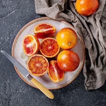 Frutti di arance rosse di sicilia