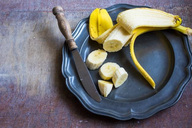 Frutti di banana freschi