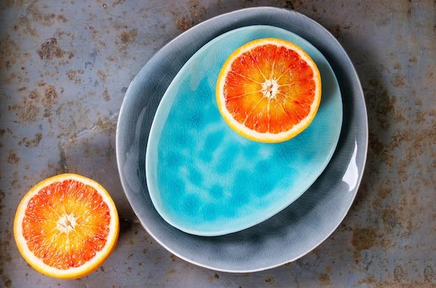 Frutto di arancia rossa