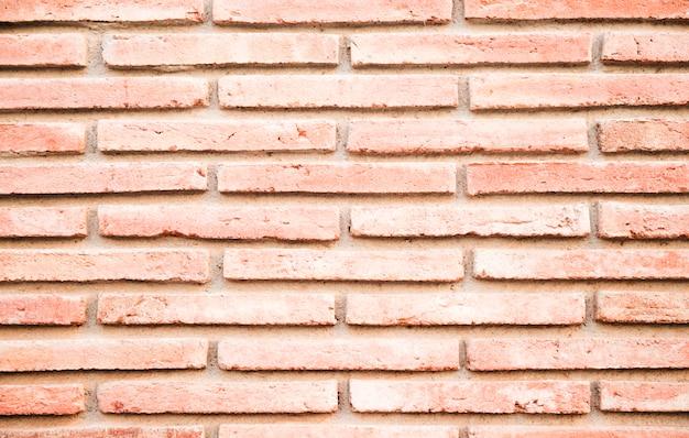 Full frame del muro di mattoni rossi