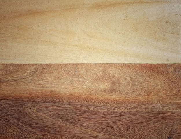 Full frame del pavimento in legno, parete, tavolo vintage superficie testurizzata sfondo.