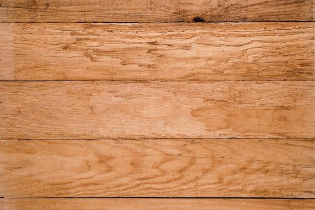 Full frame della superficie strutturata in legno marrone