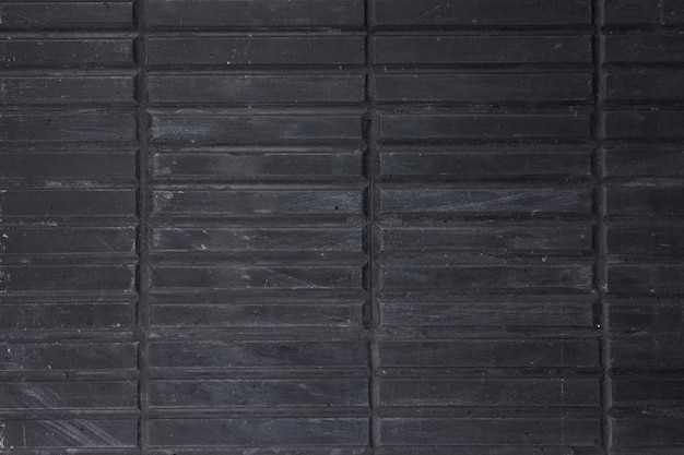 Full frame di strisce di legno nere