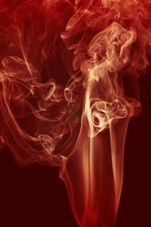 Fumare fumo fluidità del movimento
