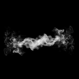 Fumo 3d illustrazione.