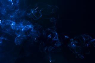 Fumo astratto, meditando