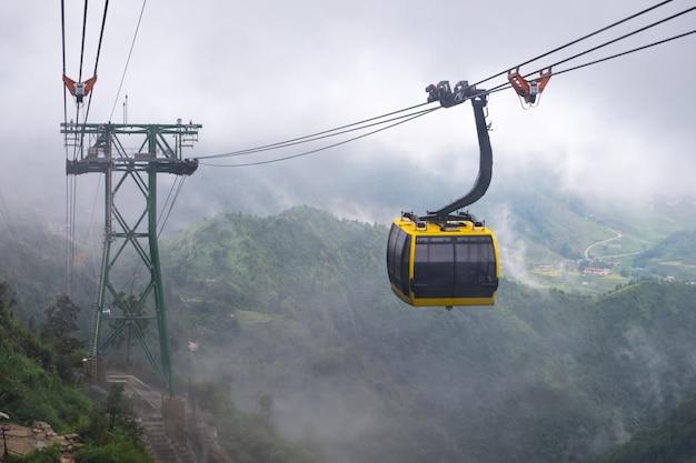 Funivia da sapa vietnam a fansipan, la montagna più alta dell'indocina