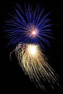 Fuochi d'artificio, festa