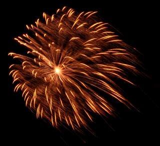Fuochi d'artificio di grandi dimensioni, newyears