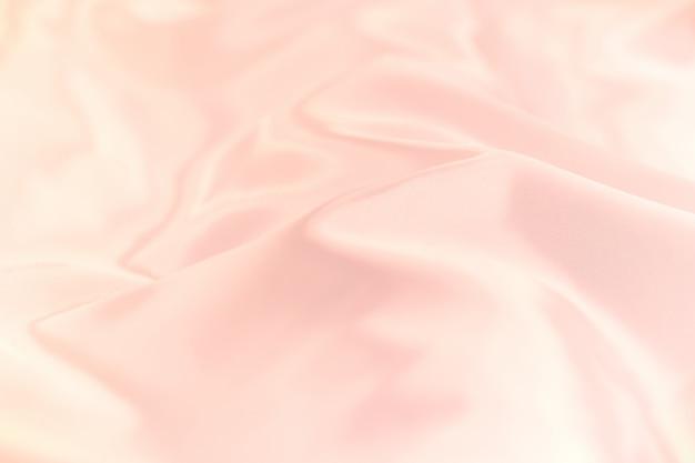 Fuoco molle di struttura del fondo del fabricl di seta di colore pastello.