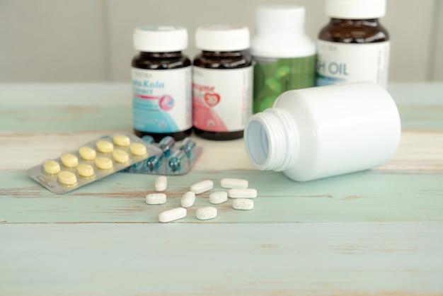 Fuoriuscita di medicine