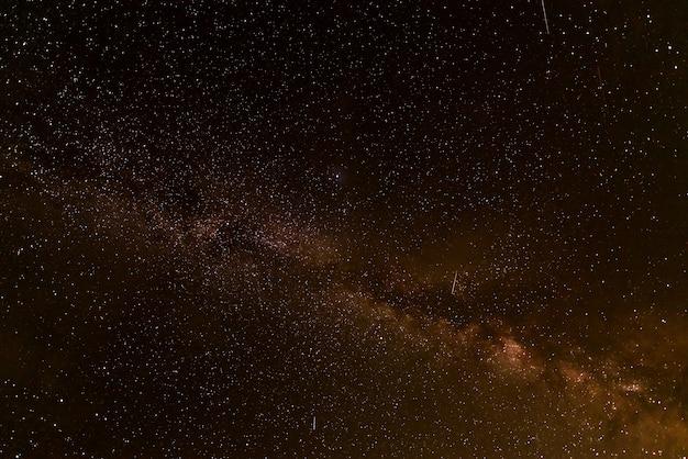Galassia della via lattea con le stelle