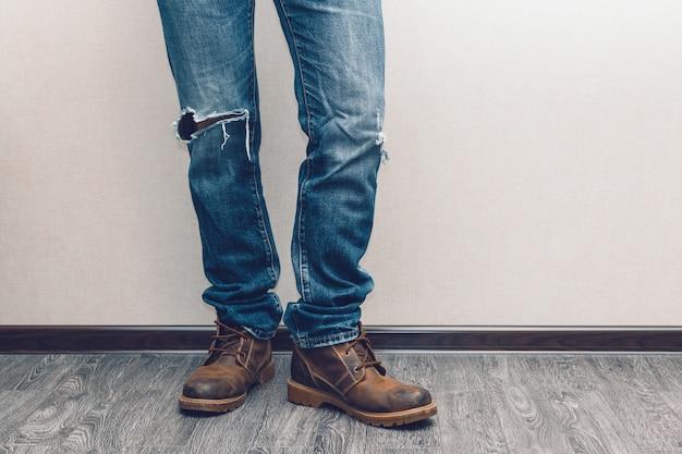 Gambe dell'uomo