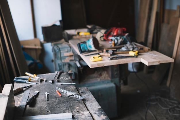 Garage di carpenteria