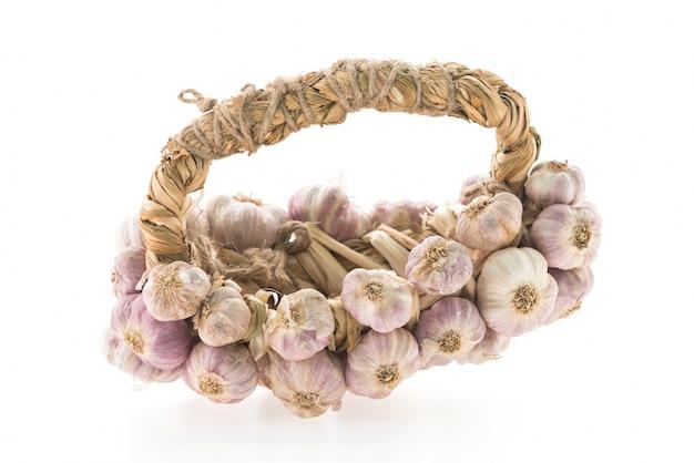 Garlics ripe
