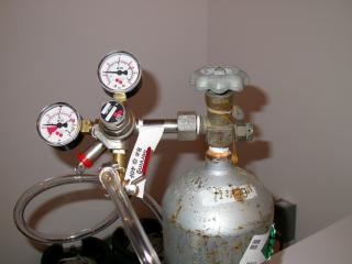 Gasometro con contatori