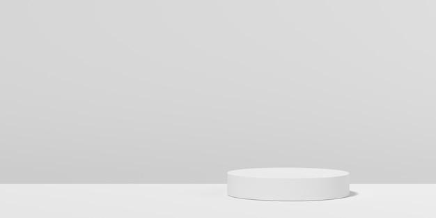 Geometria astratta forma di sfondo. scena minimalista sul podio