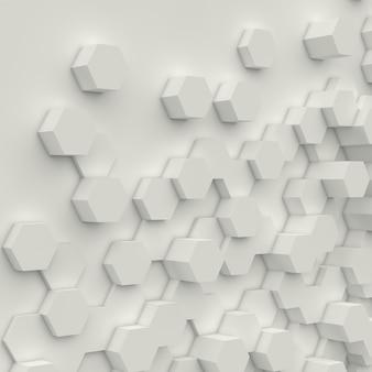 Geometria sfondo bianco