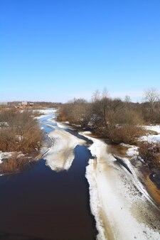 Ghiaccio sul fiume