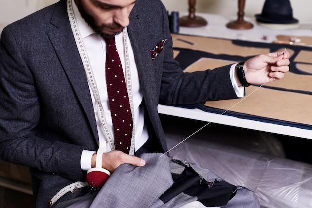Giacca maschile classica da cucire