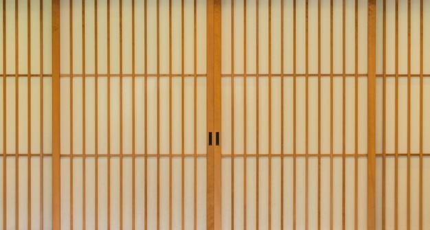 Giapponese porta scorrevole di carta.