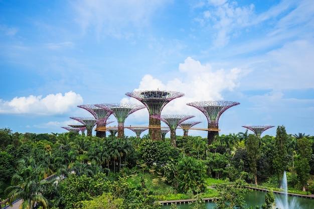 Giardini della baia di singapore