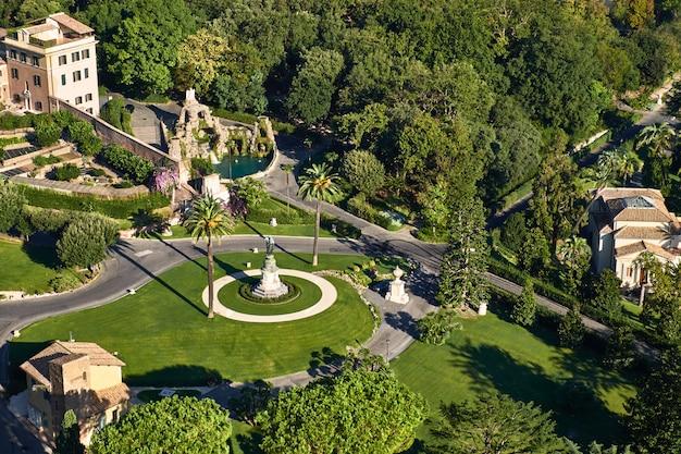 Giardini vaticani, roma