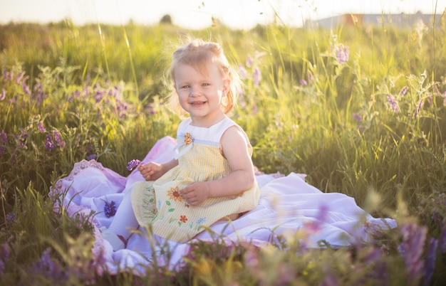 Giochi da bambini sull'erba