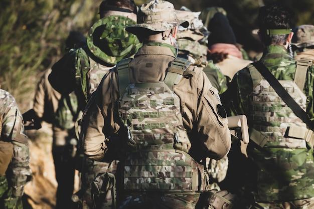 Gioco militare di airsoft