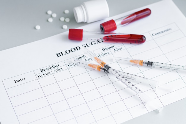 Giornata mondiale del diabete 14 novembre sfondo