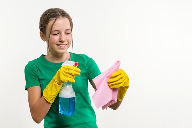 Giorno di pulizie, pulizie di primavera, lavori domestici