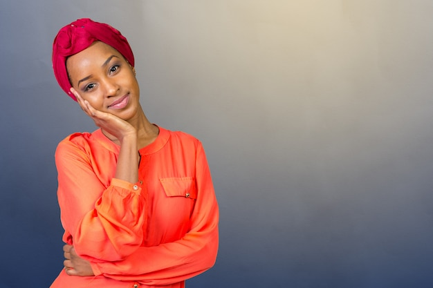 Giovane bellezza afro