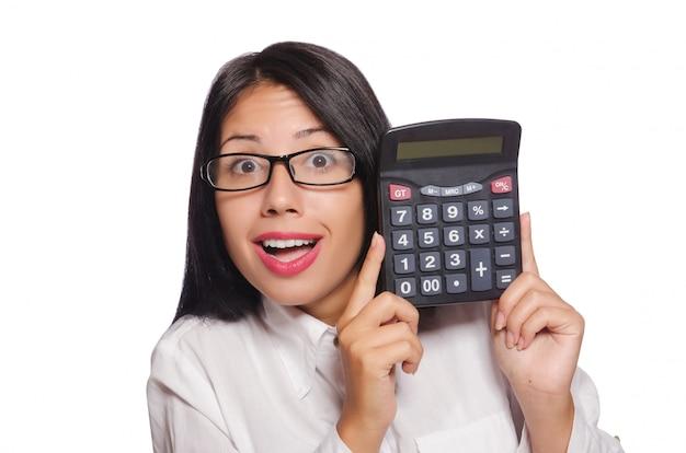 Giovane donna nel concetto di affari