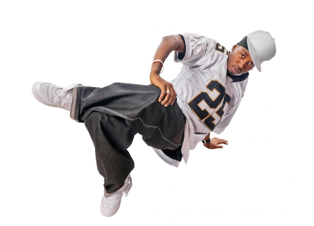 Giovane, hip-hop, ballerino, bianco