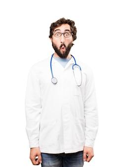 Giovane medico sorpreso