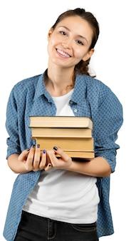Giovane ragazza con il libro