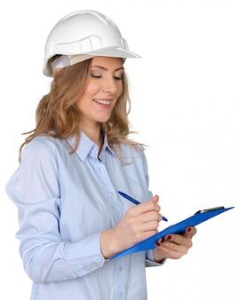 Giovane specialista in costruzioni femminili
