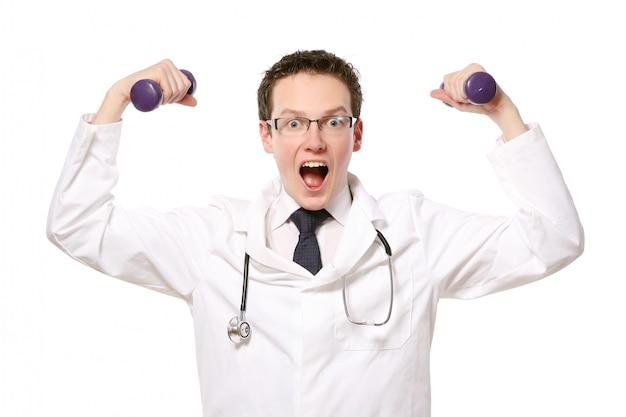 Giovane studente di medicina