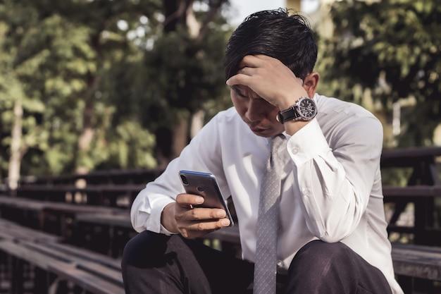 Gli uomini d'affari sono stressanti