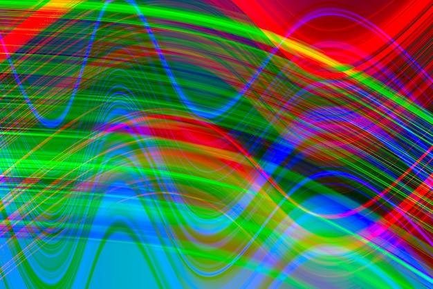 Glitch, sfondo di illuminazione astratta.