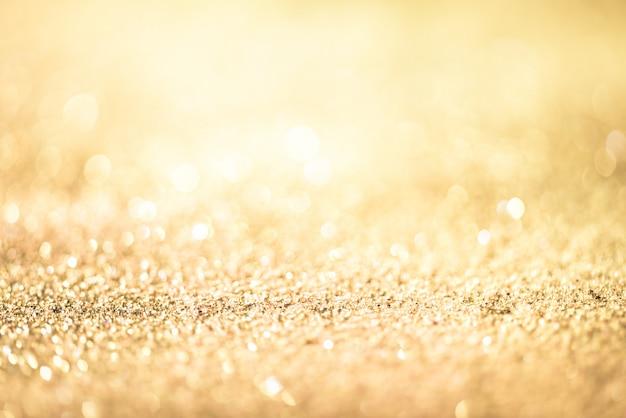 Glitter oro bokeh colorfull sfondo sfocato astratto per compleanno, anniversario, matrimonio