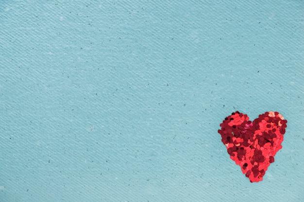 Glitters in forma di cuore