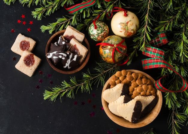 Golosità natalizie piatte