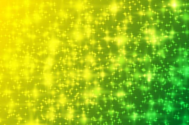 Gradiente di scintillio astratto sfondo verde giallo brillante
