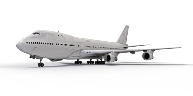 Grande aereo passeggeri di grande capacità per lunghi voli transatlantici