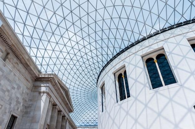 Grande corte del museo britannico